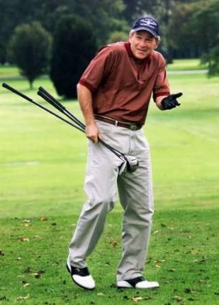 bush_golf
